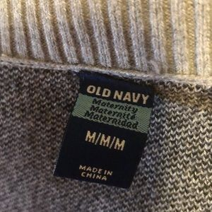 Old Navy Sweaters - Old Navy polka dot maternity sweater - M
